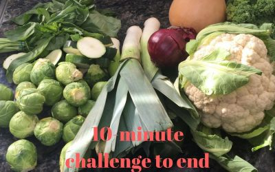 10-minute challenge to end your mindless eating