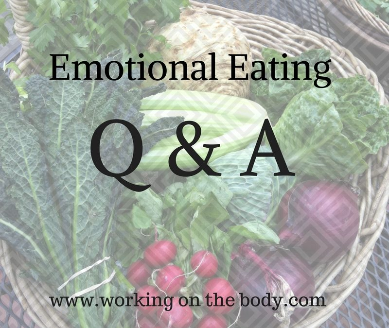 Emotional Eating Q & A Session