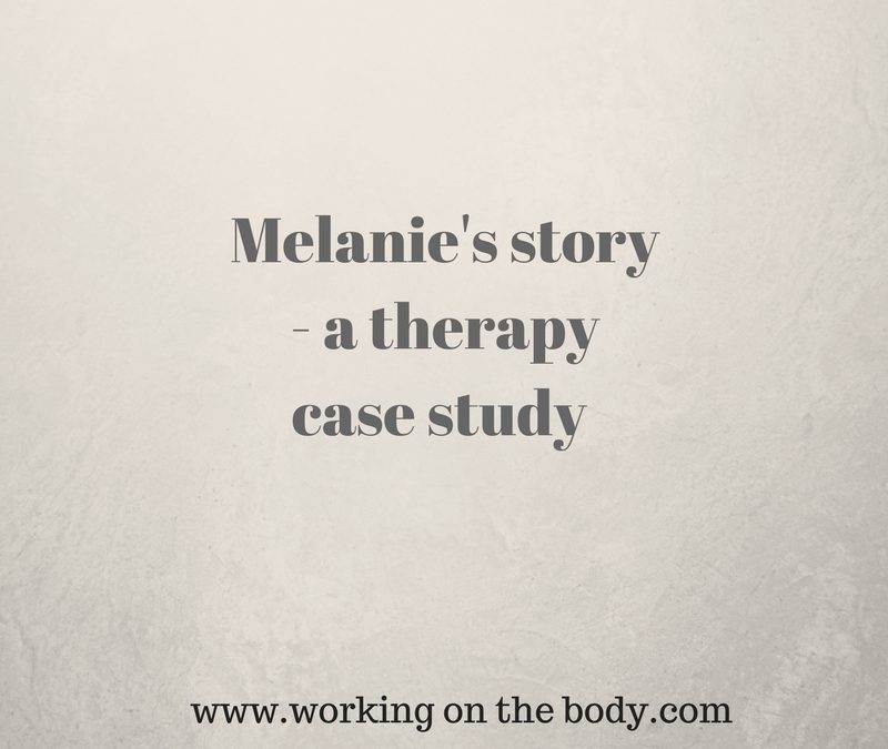Melanie's story – a therapy case study