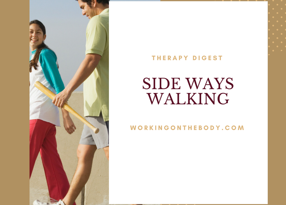 Relationships: Side-ways Walking Will Save Your Marriage