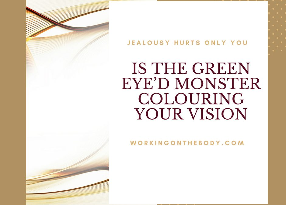 Dating: Is the green eyed monster colouring your vision?