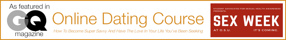 Online Dating Course banner 2